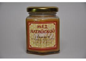 """Мёд Алтайский """"Апиток"""" с маточным молочком и прополисом 250г"""